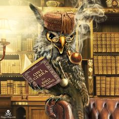 The Very Wise Old Owl by ChrisEll