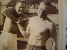 Lewis Nixon and Dick Winters