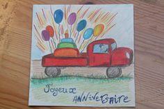 Ayden.Happy birthday - Joyeux anniversaire by Mona Lisa   - camion - 1 an - ballons - Carte - Card - https://www.facebook.com/186737541497446/photos/a.366290086875523.1073741829.186737541497446/401804079990790/?type=1&theater
