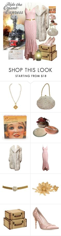 """""""The Orient Express~contest"""" by loves-elephants ❤ liked on Polyvore featuring Chanel, &K, Judith Leiber and RALPH & RUSSO"""
