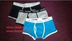 (www.ckess.es) calzoncillos Calvin Klein al por mayor 200 piezas €2.8 cada pieza), sin impuestos, envío libre