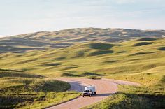 Nebraska Sandhills.  Nearly one quarter of the state is covered with gently rolling sand dunes covered with prairie grasses, wildflowers, amidst numerouos wetlands