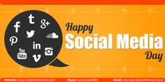 #CreativeFilament wishing a very Happy #SocialMedia Day (2016) to all of You   #SMDay