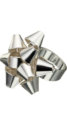 Tiffany Bow Ring (Whistles) This is so cute. It reminds me of Christmas Time.
