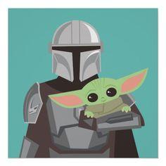 Cuadros Star Wars, Star Wars Cartoon, Clipart Png, Star Wars Rebels, Cute Disney, Star Wars Art, Cute Illustration, Custom Posters, Illustrations Posters