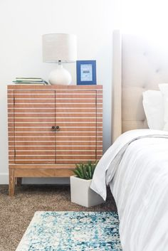 Home Tour. Kids Bedroom, Master Bedroom, Sofa End Tables, Bedside Tables, Interior Design Work, Ceramic Table Lamps, Bedroom Styles, Dresser As Nightstand, House Tours