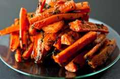 Roasted Carrots with Parsley and Thyme - NYT
