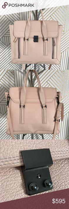 855fef901964 3.1 Phillip Lim Blush Pink Large Pashli Satchel •Blush millenial pink large pashli  satchel.