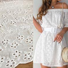 Nuevo Ojalillo😍. . . . . #biltex #telas #bucaramanga #textiles #colombia #design #telasnuevas #telashermosas #telasunicas #modafemenina… Shoulder Dress, White Dress, Textiles, Dresses, Fashion, Bucaramanga, Moda Femenina, Colombia, Vestidos