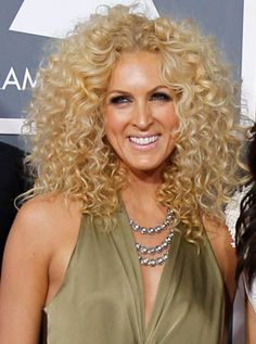 A longer version of the best-spaed curly hair cut.  Kimberly Schlapman