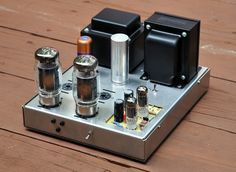Building stereos from a kit was popular in the 1950s 1960s and tube amp kits prototype 125 watt monoblock tube amplifier kit page 3 solutioingenieria Gallery