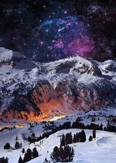 Austria- Where Time and Space come close to snow bound mountains to touch the sky, and ski mounted Flyers can fly!