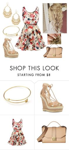 """""""Floralicious"""" by paoladouka on Polyvore featuring Jessica Simpson, Ivanka Trump and Carole"""