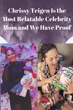 From falling asleep with her breast pump on to getting candid about post-pregnancy bods, Teigen is pretty much the mom friend we all need. Aussie Childcare Network, Family Child Care, Family Relations, Funny Comedy, Post Pregnancy, Celebrity Moms, Weird World, Weird Facts, Popular Pins