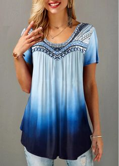 Stylish Tops For Girls, Trendy Tops, Trendy Fashion Tops, Trendy Tops For Women Page 4 Stylish Tops For Girls, Trendy Tops For Women, Trendy Fashion, Fashion Outfits, One Piece Swimwear, Shirt Sale, Stripe Print, Neue Trends, Casual Tops