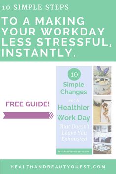 Occupational stress bringing you down? If you're feeling tired or even exhausted, constantly irritated and stressed out, can't fall asleep or can't stop from sleeping standing up - you may be experiencing signs and symptoms of burnout. This free guide will help you cope and reduce stress at work instantly. Click through and get your free download!