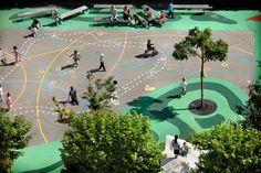 Public Playground on #Mullerpier. Bekkering Adams Architecten. Rotterdam, Netherlands