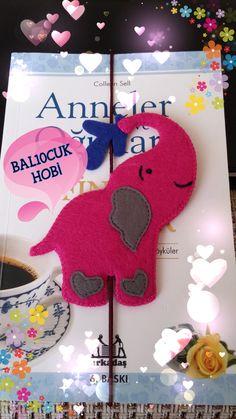 KİTAP AYRACI/ KEÇE/FELT/FİL/ ELEPHANT
