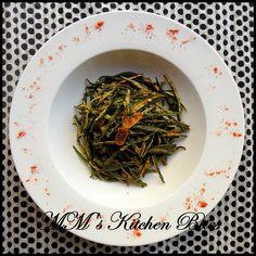 MM's Kitchen Bites: Kurkuri Bhindi......Faux Friying..kurkur kurkur