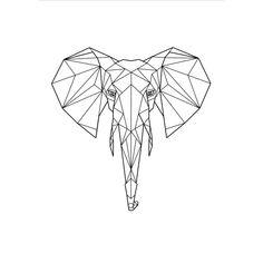 New Ideas Tattoo Geometric Elephant Design Geometric Origami, Geometric Drawing, Geometric Art, Geometric Animal, Geometric Sleeve, Geometric Elephant Tattoo, Elephant Tattoos, Origami Elephant Tattoo, Origami Tattoo