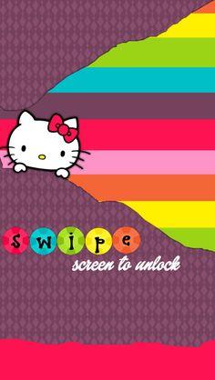MsStephieBaby  tjn Hello Kitty Backgrounds, Hello Kitty Wallpaper, Melody Hello Kitty, Sanrio Hello Kitty, Locked Wallpaper, New Wallpaper, Screen Wallpaper, Abstract Iphone Wallpaper, Wallpaper Backgrounds