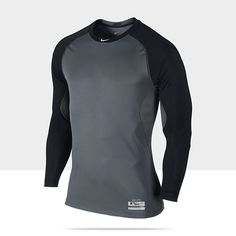 Nike Pro Combat Core Fitted Raglan 1.2 Long-Sleeve Men's Baseball Shirt