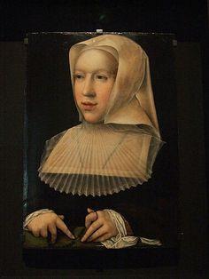 Ritratto di Margherita d'Austria  Museo di Brou
