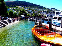 Adventure capital of the world, Queenstown, New Zealand.
