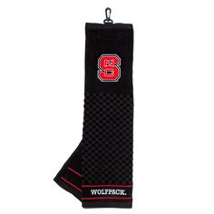 North Carolina State Wolfpack NCAA Embroidered Tri Fold Towel