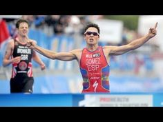 Impresionante sprint de Gómez Noya Mundial Triatlon 2013 (WTC London)