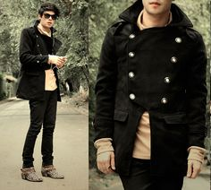What Would I Want? Sky (by Vini Uehara) http://lookbook.nu/look/4073530-Clothingloves-Japan-Style-Mens-Multi-Buckle