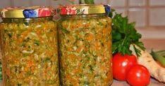 800 g Gemüse (Karotten, Lauch, Sellerieknollen, Tomate, Petersilienwurzel, Petersilie, Liebstöckel) 100 g Salz Pfeffer, 1/2 TL Zuc...