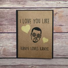 Funny Valentine Card via Etsy.