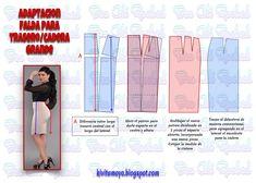 KiVita MoYo : Adaptacion para falda en trasero prominente