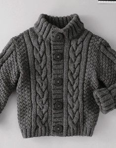 35 Ideas for knitting sweaters for boys baby vest Kids Knitting Patterns, Baby Cardigan Knitting Pattern, Baby Boy Knitting, Knitted Baby Cardigan, Knit Baby Sweaters, Boys Sweaters, Knitting For Kids, Knitting Designs, Free Knitting