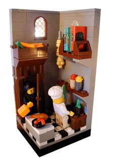 Lego vignette by Tom Sneller