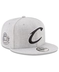 New Era Boys  Cleveland Cavaliers The Heather 9FIFTY Snapback Cap - Gray  Adjustable 2d3309be5ea