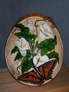 calla lily gourd - Google Search
