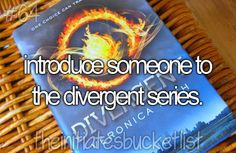 Done! Two people actually! Initiates Bucket List ~Divergent~ ~Insurgent~ ~Allegiant~