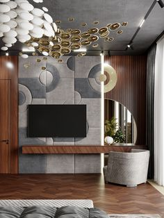 Tv Furniture, Modern Furniture, Elegant Bedroom Design, Design Bedroom, Tv Unit Bedroom, Lcd Units, Tv Panel, Tv Wall Decor, Interior Architecture