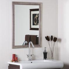 $158 Decor Wonderland Modern Wall Mirror