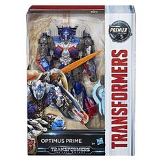 Hasbro Transformers The Last Knight Optimus Prime Voyager Premier Robot Toy Gift #Hasbro