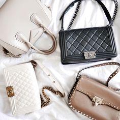 Chanel, Valentino, Givenchy