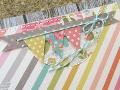 love this banner detail by Crafty Girl Designs