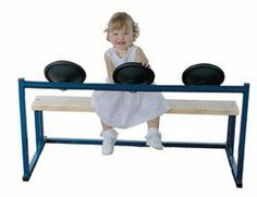 """Kids Steering Bench by Playcenter Authority. $259.95. Steering Bench 43 x 25"""". High quality manipulative activities for children. Wood construction is used in many of the activity centers for durability. Ideal for waiting rooms, schools, doctor's offices, commercial play areas, and the home."""