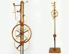 LIBRO-Wooden Clock