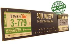 wedding gift for running couple   medals by runningonthewall, $52.99