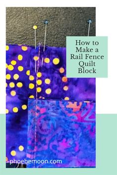Scrappy Quilt Patterns, Jellyroll Quilts, Scrappy Quilts, Easy Quilts, Quilt Blocks, Rail Fence Quilt, Pattern Designs, Quilting For Beginners, Moon Design