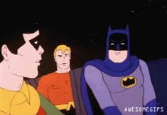 Batman is done talking to you. (animated gif)