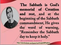 Spirit of Prophecy Uplifting Quotes, Inspirational Quotes, Sabbath Quotes, Ellen G White, Revelation 14, Sabbath Day, Seventh Day Adventist, Quotes White, Evil Spirits